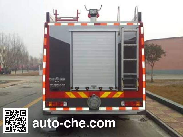 Tianhe LLX5204GXFPM80/HM foam fire engine