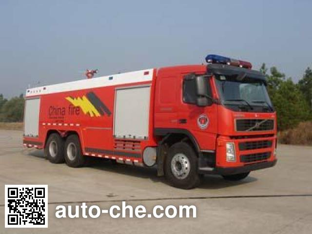 Tianhe LLX5343GXFSG180V Fire tank truck on Volvo FM 400 64R