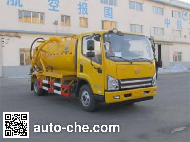 Luping Machinery LPC5080GXWC4 sewage suction truck