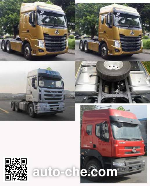Chenglong LZ4252H5DB dangerous goods transport tractor unit