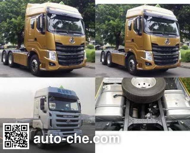 Chenglong LZ4255H7DB dangerous goods transport tractor unit