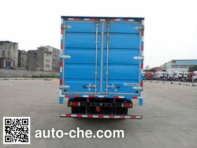 Chenglong LZ5080XXYL3AB box van truck