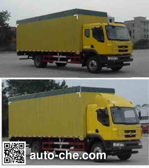 Chenglong LZ5160CPYM3AA soft top box van truck
