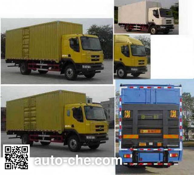 Chenglong LZ5161XXYM3AB1 box van truck