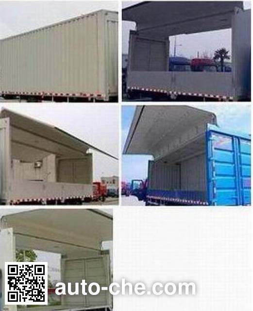 Chenglong LZ5200XYKM3CB wing van truck