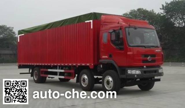 Chenglong LZ5250CPYM3CA soft top box van truck
