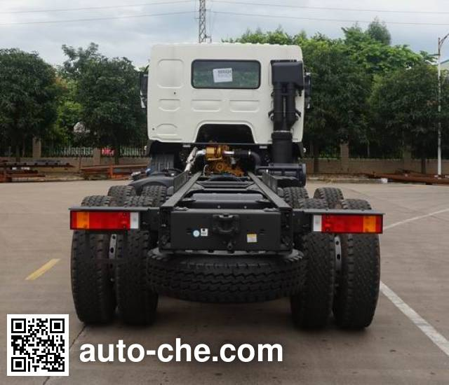 Chenglong LZ5250GJBH5DBT concrete mixer truck chassis