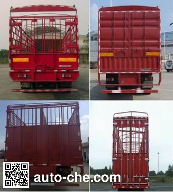 Chenglong LZ5251CCQM3CB livestock transport truck