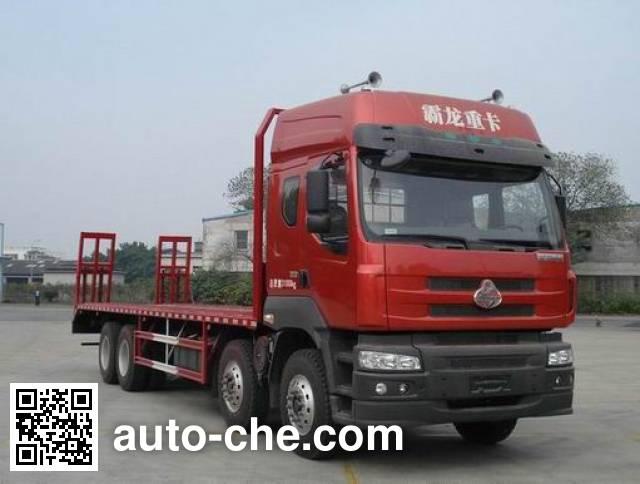 Chenglong LZ5310TPB flatbed truck