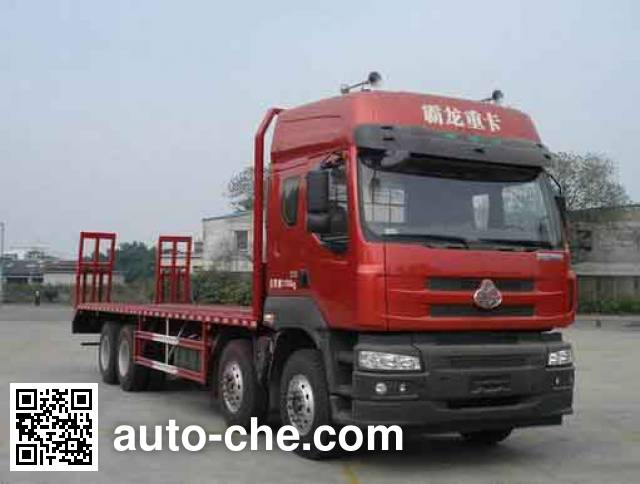 Chenglong LZ5310TPB flatbed truck
