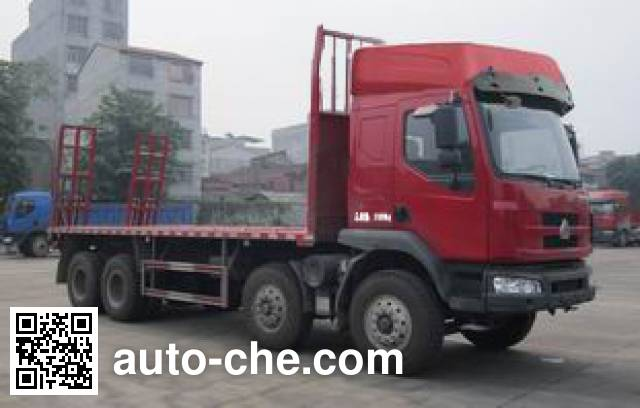 Chenglong LZ5312TPB flatbed truck