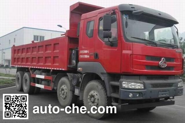 Chenglong LZ5312ZLJM5FA dump garbage truck