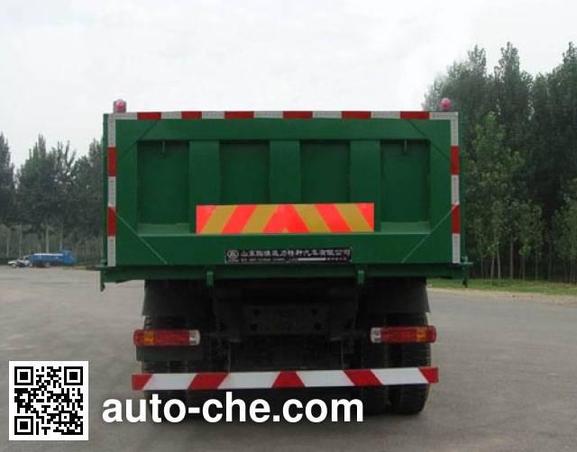 迅力牌LZQ3311ZSQ46A自卸汽车