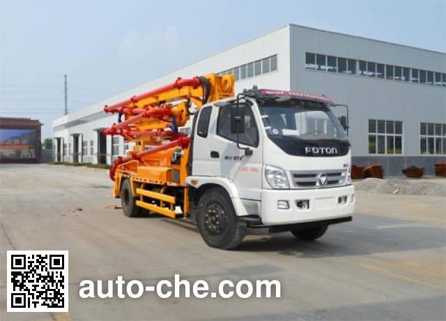迅力牌LZQ5160THB混凝土泵车
