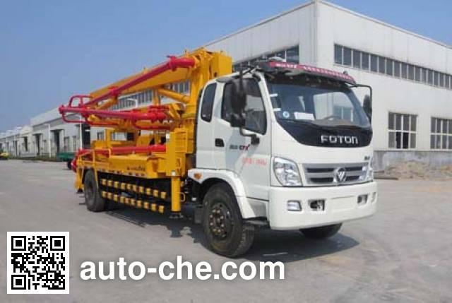 迅力牌LZQ5161THB混凝土泵车