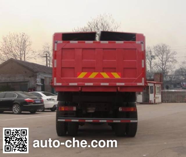 迅力牌LZQ5251ZLJQ38A自卸式垃圾车