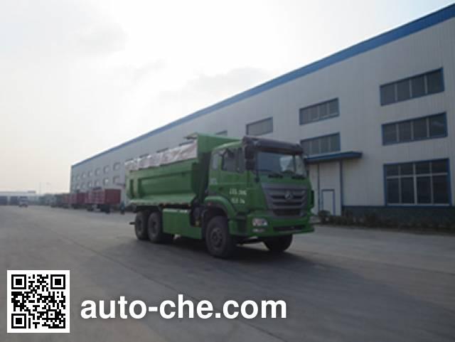 迅力牌LZQ5253ZLJQ38C自卸式垃圾车