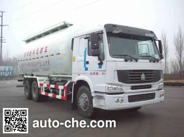 迅力牌LZQ5257GFLB粉粒物料运输车