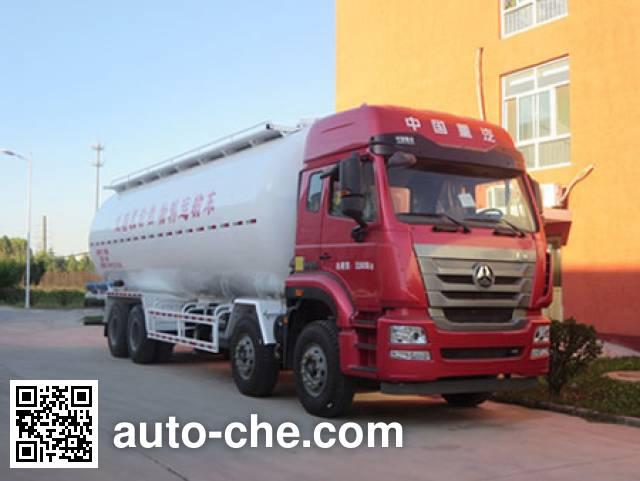 迅力牌LZQ5313GFLC低密度粉粒物料运输车