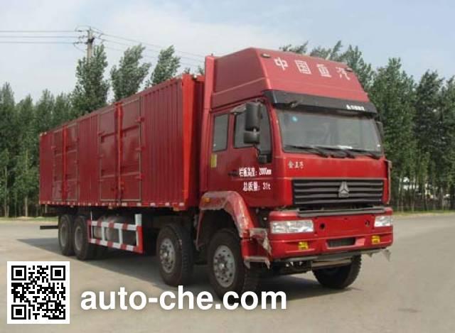 迅力牌LZQ5318XXY厢式运输车