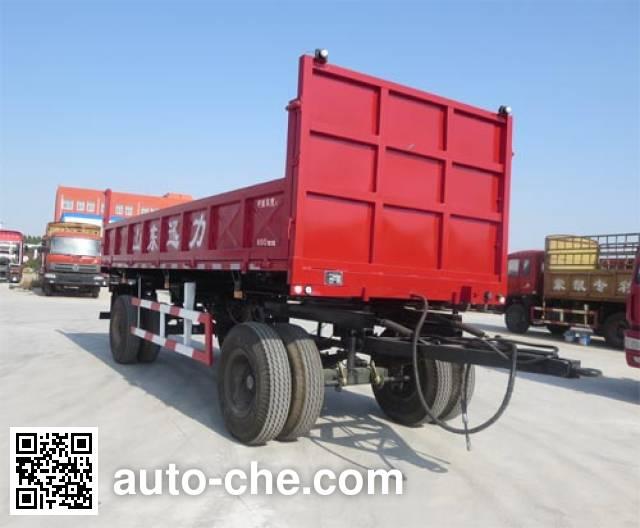 Xunli LZQ9142ZXQGZF dump drawbar trailer