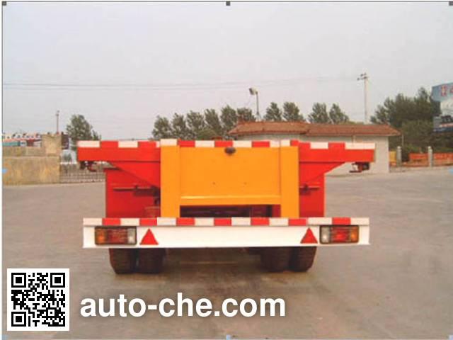 迅力牌LZQ9352TJZG集装箱运输半挂车