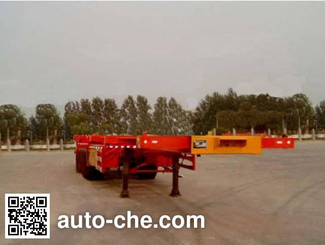 迅力牌LZQ9370TJZ集装箱半挂牵引车