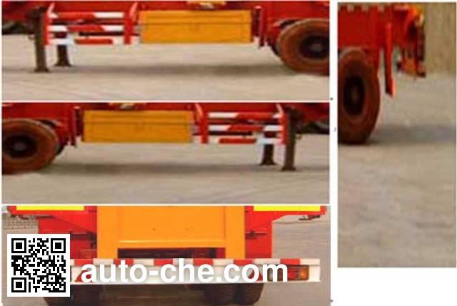 迅力牌LZQ9370TJZ集装箱运输半挂车