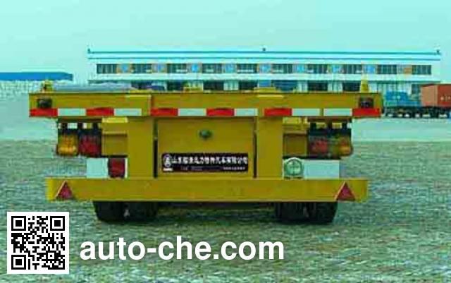 Xunli LZQ9372TJZ container transport trailer