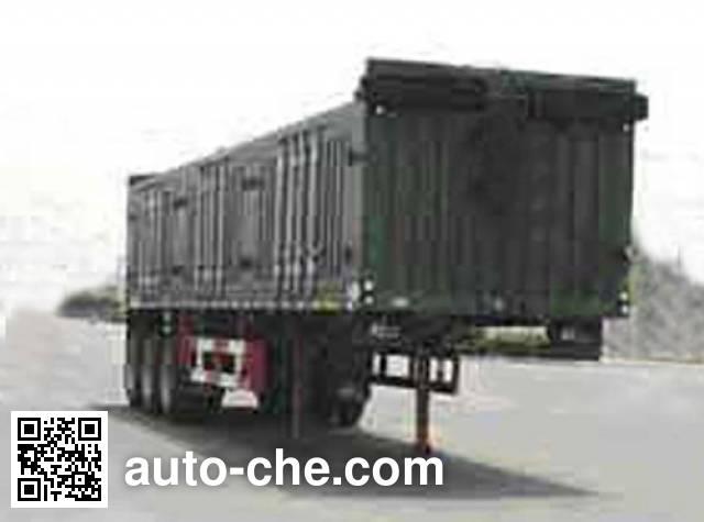 迅力牌LZQ9380MT煤炭运输半挂车