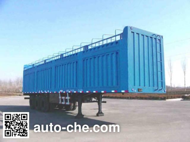 Xunli LZQ9390RDXY soft top box van trailer