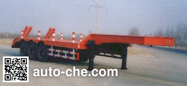 迅力牌LZQ9400TDP低平板半挂车