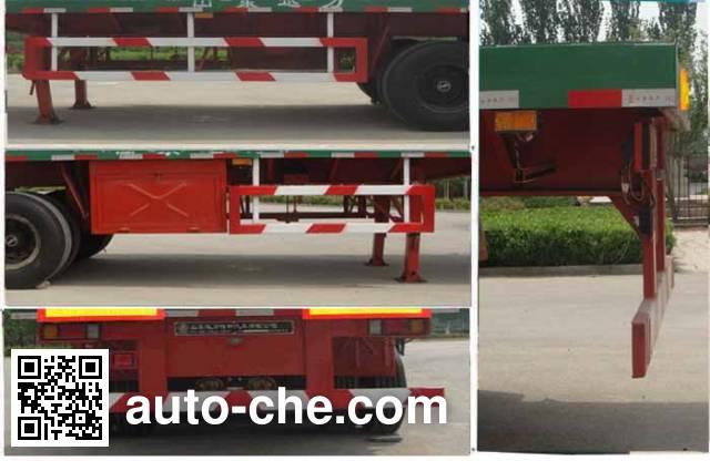 Xunli LZQ9400TPB flatbed trailer