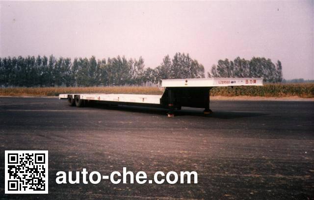 迅力牌LZQ9500TDP低平板半挂车