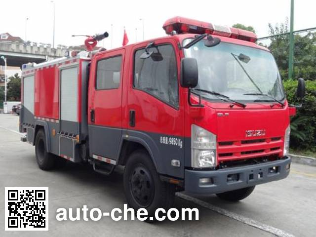 Zhenxiang MG5100GXFPM40 foam fire engine