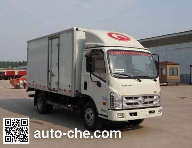 Hehai Mingzhu MZC5040XXY box van truck