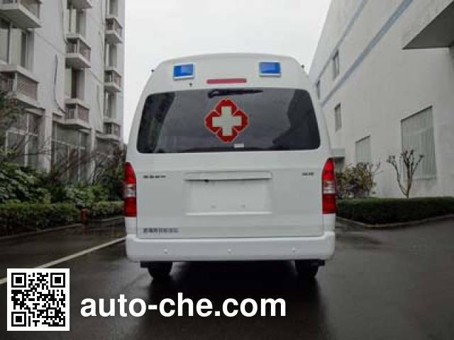 凯福莱牌NBC5037XJH02救护车