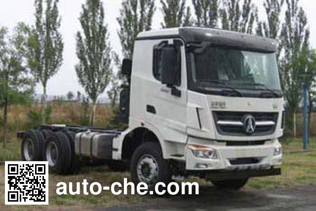 Beiben North Benz ND1250BD5J7Z01 truck chassis