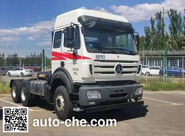 Beiben North Benz ND4250BD4J6Z03 container carrier vehicle