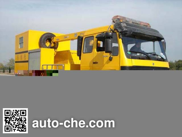 Beiben North Benz ND5160TQX railroad rush repair vehicle