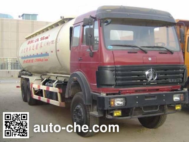 Beiben North Benz ND5254GFLZ bulk powder tank truck