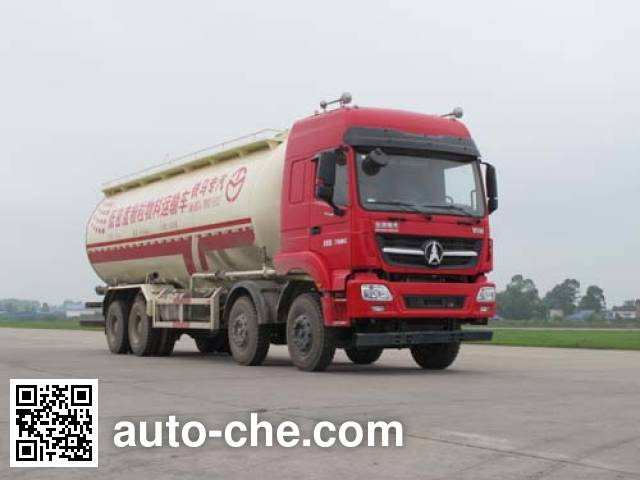 Beiben North Benz ND5310GFLZ05 low-density bulk powder transport tank truck