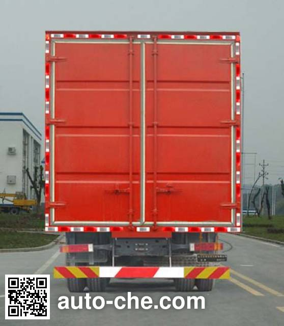 Beiben North Benz ND5310XXYZ07 box van truck