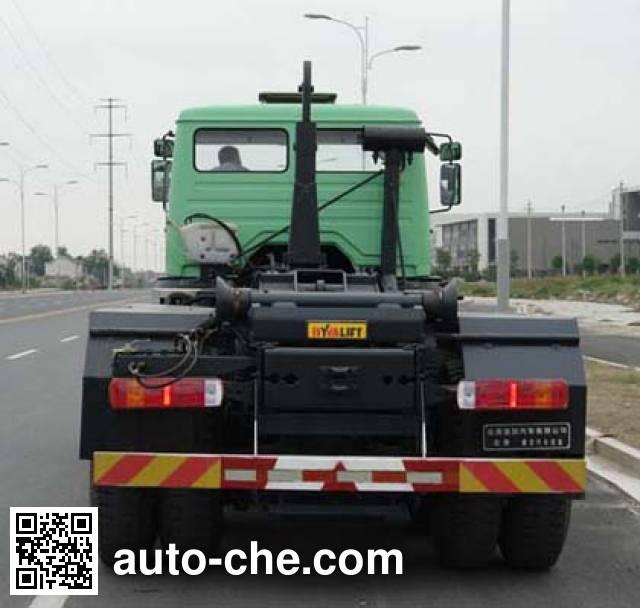 Beiben North Benz ND5310ZXXZ detachable body garbage truck