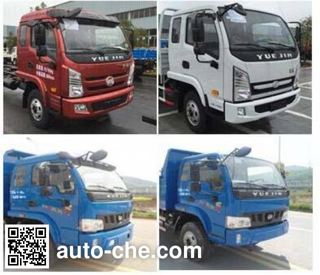 Yuejin NJ3102VFDCMW dump truck