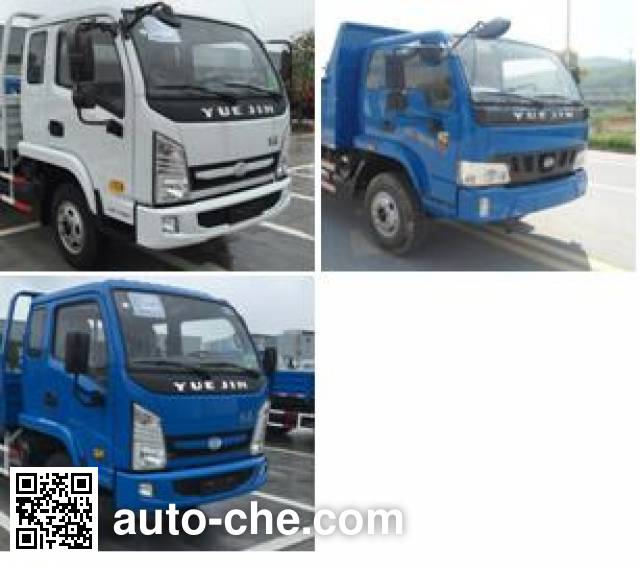 Yuejin NJ3041VEDBNW dump truck