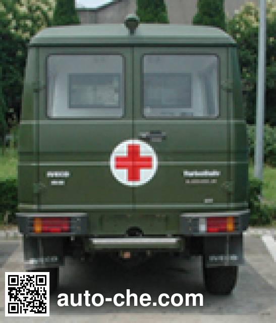 依维柯牌NJ2044XJHG越野救护车