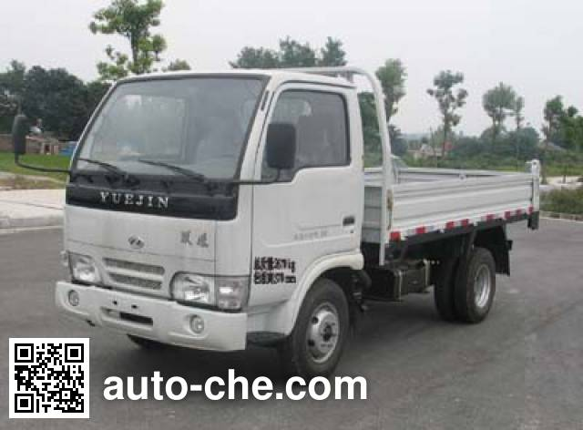 Yuejin NJ2810D22 low-speed dump truck