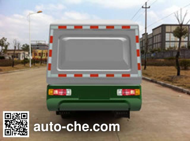 畅达牌NJ5028ZZZEV1纯电动自装卸式垃圾车
