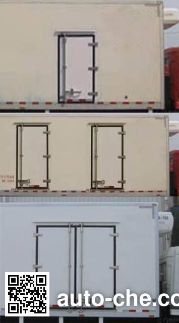 畅达牌NJ5048XLC4A冷藏车